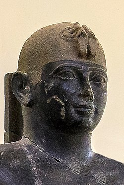 Taharqa portrait, Kerma Museum.jpg
