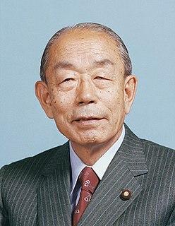 Takeo Fukuda Japanese politician