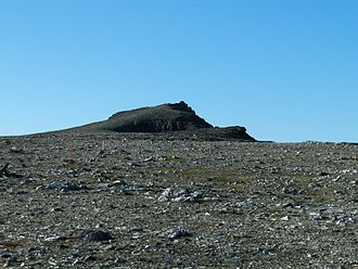 Berlevåg - View of the Tanahorn mountain
