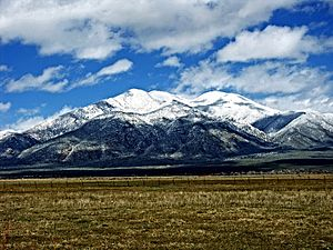 Taos County, New Mexico - Image: Taos Mtn from El Prado