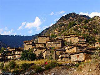 Tari Mangal Village in Pakistan