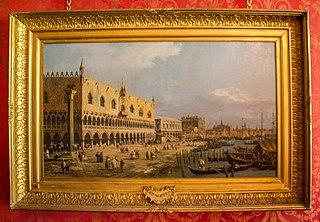 Le Palais du Doge et le Riva degli Schiavoni, Venise