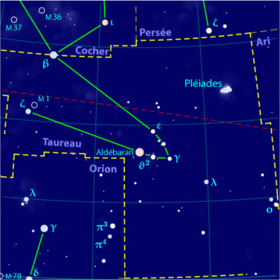 Image illustrative de l'article Taureau (constellation)