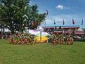 Teachers performing at 2017 Philippine Independence Day Celebration in Minalabac, Camarines Sur.jpg
