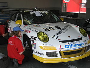 Team Seattle - A Team Seattle Porsche at the 2008 24 Hours of Daytona