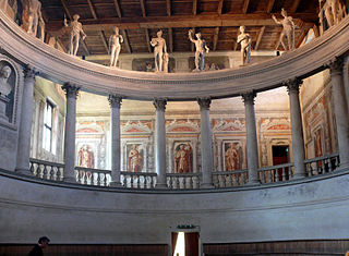 Teatro allantica theatre in Sabbioneta, Italy