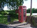 Telephone kiosk in Greenway, Bishops Lydeard - geograph.org.uk - 885495.jpg