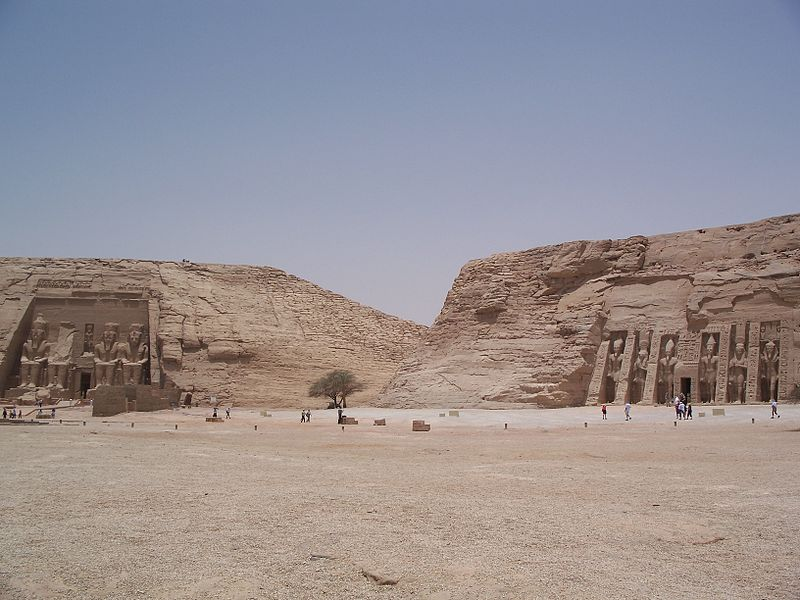 Egypt Temples at Abu Simbel - one of the 9 best places in the world to celebrate love
