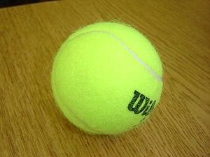 Tennis games - A tennis ball