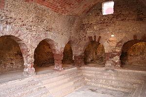Caldes de Montbui - Ancient Roman thermal baths at Caldes de Montbui