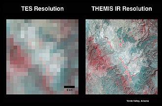 Thermal Emission Imaging System - Image: Tesvsthemis med