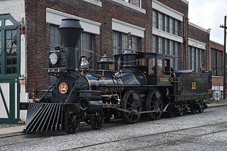 The Texas (locomotive) - The Texas, restored at the North Carolina Transportation Museum to its 1870's appearance, April 2017.