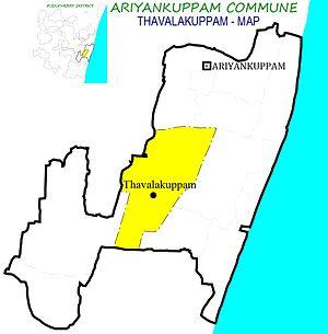Thavalakuppam - Thavalakuppam Village in Ariyankuppam Commune