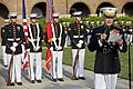 The 35th Commandant of the Marine Corps, Gen. James F. Amos, gives an address during the retirement ceremony for Gen. George J. Flynn, not shown, at Marine Barracks Washington in Washington, D.C., May 9, 2013 130509-M-LU710-286.jpg