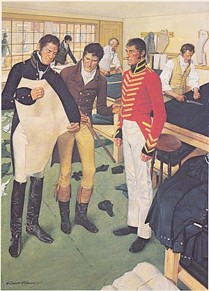 Uniforms of the United States Army - Uniforms for the War of 1812 were made in Philadelphia.