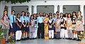 The Chairman Chiefs of Staff Committee (COSC) and Chief of the Air Staff, Air Chief Marshal Arup Raha and the President Air Force Wives Welfare Association (AFWWA).jpg