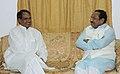 The Chief Minister of Madhya Pradesh, Shri Shivraj Singh Chauhan meeting with the Union Minister for Tribal Affairs, Shri Kantilal Bhuria, in New Delhi on June 02, 2009.jpg