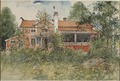 The Cottage. From A Home (26 watercolours) (Carl Larsson) - Nationalmuseum - 24202.tif