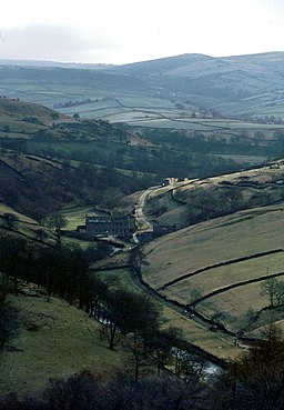 The Dane Valley at Gradbach - geograph.org.uk - 1768771