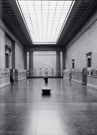The re-opened Duveen Gallery, 1980 The Duveen Gallery (1980s).jpg
