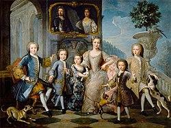 The Family of the Duke of Valentinois, Pierre Gobert.jpg