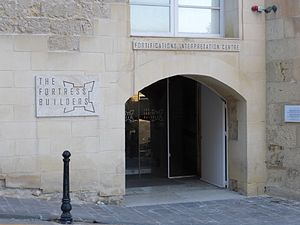Fortifications Interpretation Centre - Entrance to the FIC