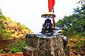 The Great Maratha Emperor Chhatrapati Shivaji Maharaj Statue at Mahuli Gad.jpg