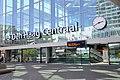 The Hague Central Station, Anna van Buerenplein entrance, 2018.jpg