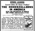 The Hohenzollerns in America newspaper ad.png