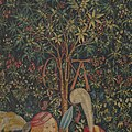 The Hunters Enter the Woods (from the Unicorn Tapestries) MET DP101013.jpg