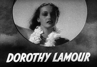 Dorothy Lamour - Lamour in The Hurricane (1937)