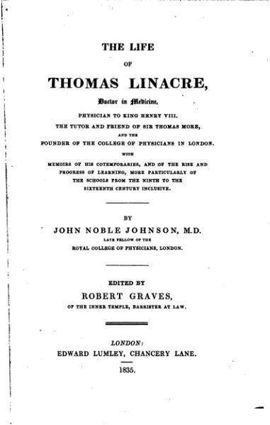 File:The Life of Thomas Linacre.djvu