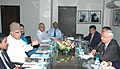 The Minister of Electricity and Energy of Egypt, Mr. Hassan Younes and the Union Minister of New and Renewable Energy, Dr. Farooq Abdullah in a meeting, in New Delhi on November 16, 2009.jpg