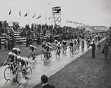 The Olympic Cycling Road Race at Windsor, London, 1948. (7649954084).jpg