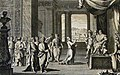 The Phillip Medhurst Picture Torah 196. Joseph interpreting Pharaoh's dream. Genesis cap 41 v 14. Perelle.jpg