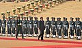 The President of the Republic of Tajikistan, Mr. Emomali Rahmon inspecting the Guard of Honour, at the ceremonial welcome, at Rashtrapati Bhavan, in New Delhi on December 17, 2016.jpg