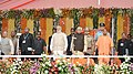 The Prime Minister, Shri Narendra Modi at the swearing-in ceremony of the new government of Uttar Pradesh, at Lucknow.jpg