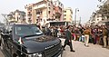 The Prime Minister, Shri Narendra Modi during his visit to Varanasi, Uttar Pradesh on December 22, 2016.jpg