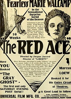 <i>The Red Ace</i> 1917 film