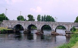 River Moy - River Moy at Foxford, County Mayo