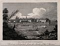 The Royal Hospital, Chelsea; viewed from the Surrey bank wit Wellcome V0012912.jpg
