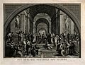 The School of Athens; a gathering of renaissance artists in Wellcome V0006662.jpg