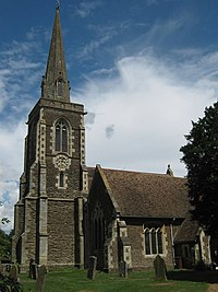 The Spire of St Mary's Church, Frittenden - geograph.org.uk - 1390871.jpg