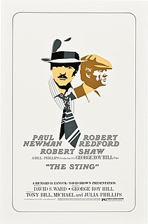 <i>The Sting</i> 1973 film by George Roy Hill