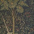 The Unicorn in Captivity (from the Unicorn Tapestries) MET DP101251.jpg