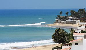 Salinas, Ecuador - Photo of the beach in Salinas