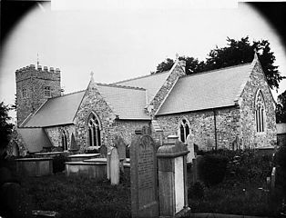 The church, Llangadog