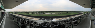 Arlington Park - The grandstand at Arlington International Racecourse, Arlington Heights, Illinois