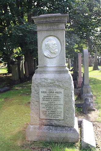 David Laird Adams - The grave of David Laird Adams, Grange Cemetery, Edinburgh
