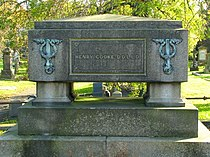 The grave of Henry Cooke, Balmoral Cemetery - geograph.org.uk - 1019801.jpg